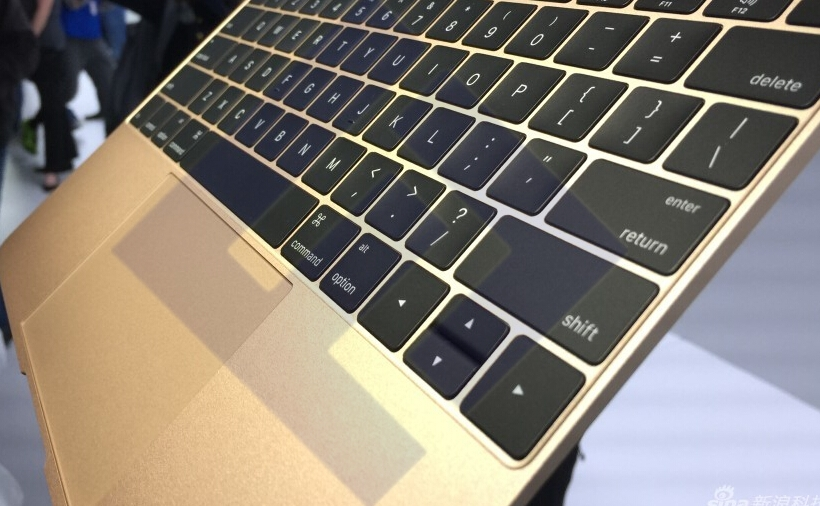 苹果笔记本键盘结构图